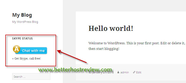 how to add tweet buttons in posts wordpres