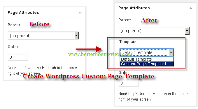 create a new page template wordpress - how to create wordpress custom page template