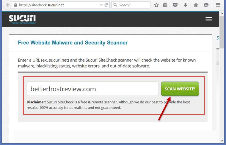 Free online website malware & virus Scanner