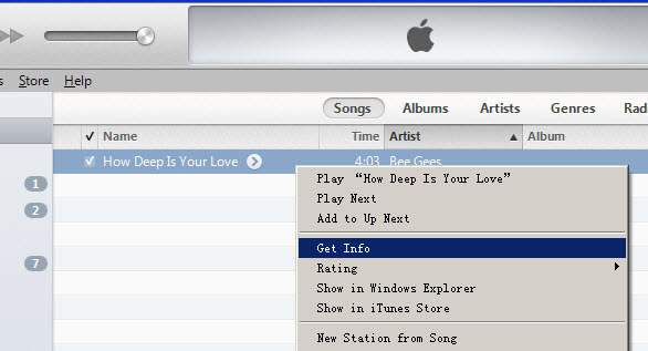 how to cut music on itunes